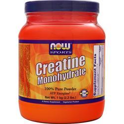 Now Creatine Monohydrate - 100% Pure Powder 2.2 lbs