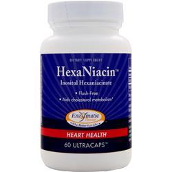 Enzymatic Therapy HexaNiacin 60 caps
