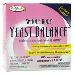 Enzymatic Therapy Whole Body Yeast Balance  BEST BY 11/30/18 1 kit