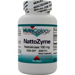 Nutricology NattoZyme (100mg) 180 sgels