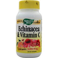 Nature's Way Echinacea with Vitamin C 100 caps